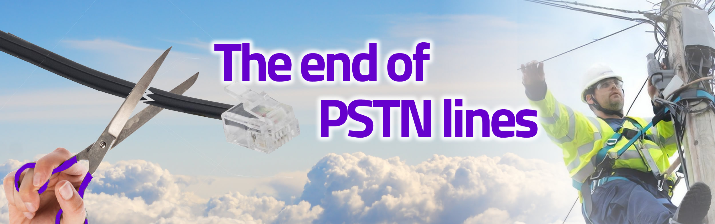 The end of PSTN telephone lines